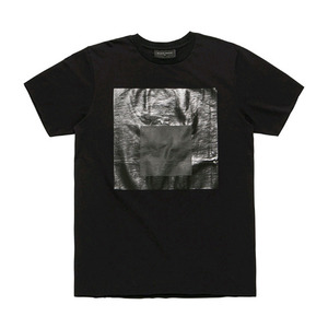 BLACKSCALE Black Parallel T-Shirt Black