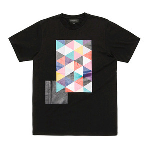 BLACKSCALE Tri Vision T-Shirt Black