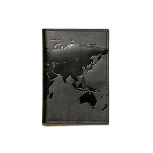 BLACKSCALE Passport Wallet Black