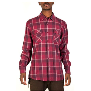 THE HUNDREDS BRAWNY FLANNEL SHIRTS [2]
