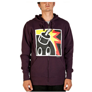 THE HUNDREDS SQUARE ZIP UP [2][45%SALE]
