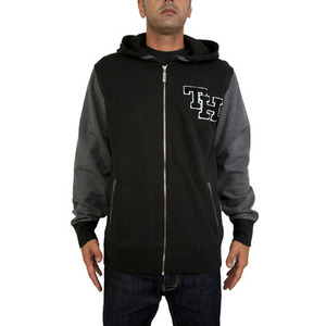 THE HUNDREDS REX ZIP UP HOOD [1]